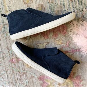 DV by Dolce Vita Blue Suede Slip On Sneakers